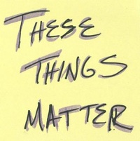 These Things Matter logo for Denver Diatribe